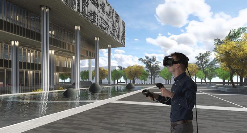 VR Architecture Tainan Public Library