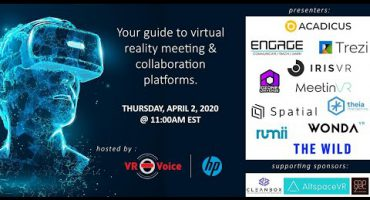 Trezi's Webcast Guide to Virtual Reality Meetings and Collaboration Platforms