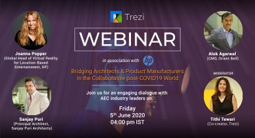 Webinar on Bridging Architects & Product Manufacturers in the Collaborative post-COVID19 World: A Recap